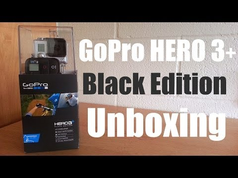 NEW! GoPro HERO 3+ Black Edition Unboxing. Overview. & First Look (New 2013 GoPro 3+ Camera)