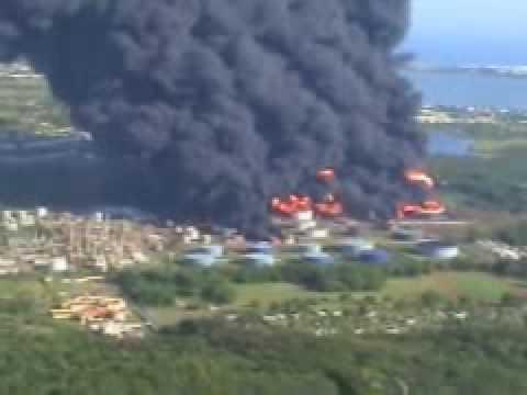Carribean Petroleum Oil Tank Farm Explosion