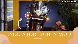 Gixxer SF Indicator Modification - DIY | SWaG