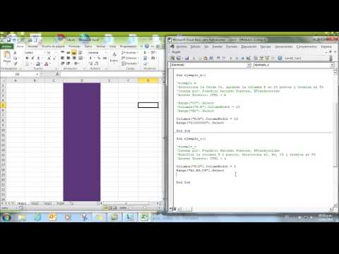 Completo Manual Tutorial de Macros en Excel 2010: 4 Horas