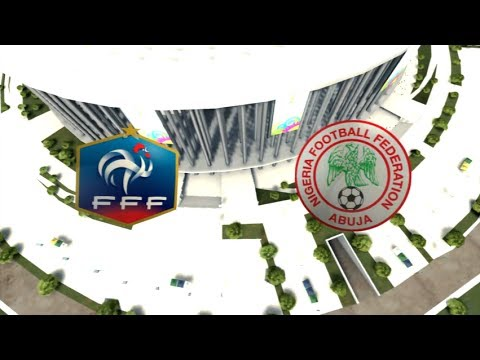 France - Nigeria [FIFA 14 World Cup] | Coupe du Monde 2014 (1/8ème de Finale) | CPU Vs. CPU
