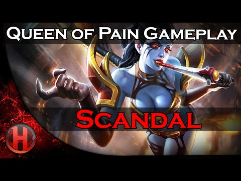 Queen of Pain Gameplay Dota 2 by Scandal