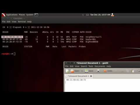Hacking Tutorials - 6 - Wireless WPA/WPA2 cracking