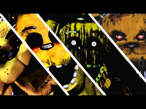 Five Nights At Freddy's 1 2 3 4 All Jumpscares | All FNAF Series Jumpscares