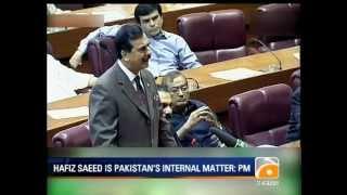 Geo News Summary-Hafiz Saeed, Khi Blast, Zardari