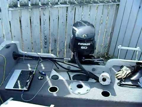 Winterizing Evinrude E-TEC 60 hp outboard