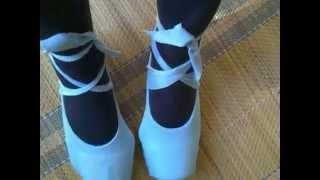 Como facer unhas zapatillas de ballet