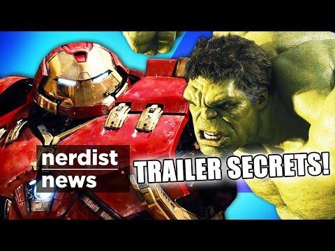 Hidden Secrets in the AVENGERS 2 Trailer! (Nerdist News w/ Jessica Chobot)