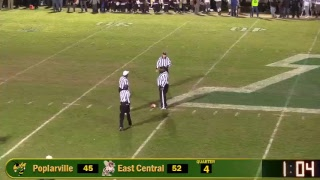 Poplarville Hornets vs East Central Hornets