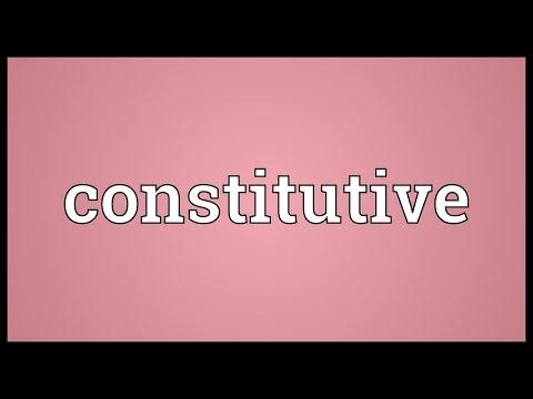 Header of constitutive