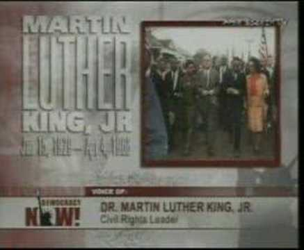 Excerpt From Martin Luther King's Last Speech. April 3, 1968 video