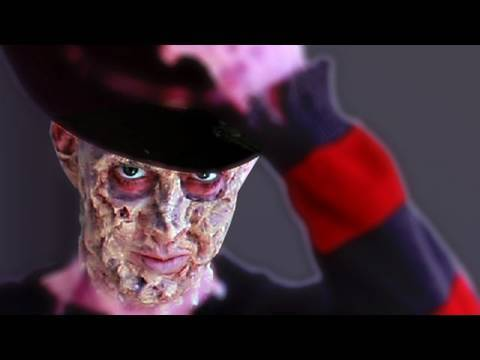 Freddy Krueger's Burn MakeUp, Nightmare on Elm Street : ...