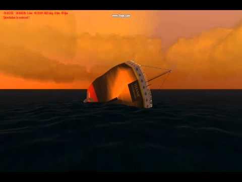 Titanic And Britannic Sinking Titanic Sinking Like Britannic
