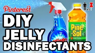 DIY JELLY DISINFECTANTS - MAN VS PIN #85