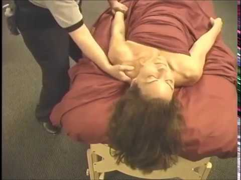 How to massage the Arms Supine