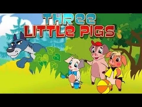 The 3 Little Pigs - Cartoon Movie In Hindi video