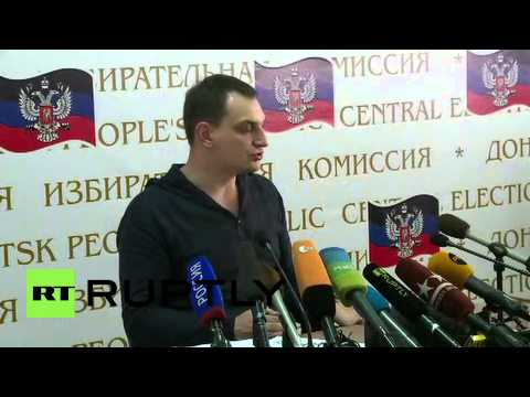 "Ukraine: Donetsk referendum about deciding ""the fate of our region ourselves"""