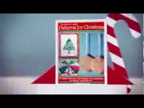 """The Best Free Quilt Patterns for Christmas: 10 Quilt Blocks, Christmas Ornaments to Make"" eBook"