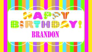 Brandon   Wishes & Mensajes - Happy Birthday