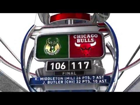 Milwaukee Bucks vs Chicago Bulls - January 5. 2016
