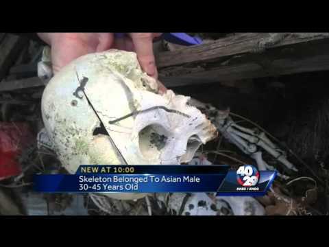 Update: Skeleton found in Oklahoma barn