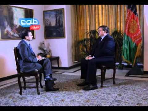 TOLOnews Exclusive Interview with Abdul Rahim Wardak / گفتگوی ویژه با عبدالرحیم وردک