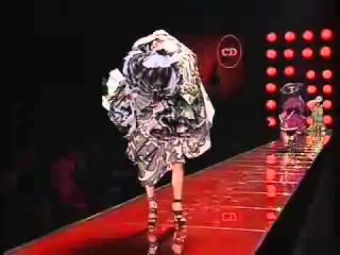 Christian Dior Haute Couture by John Galliano, Spring Summer 2003 part 2.