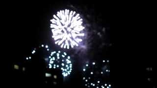 Салют в комментарии Рэда. Firework with comment of Red