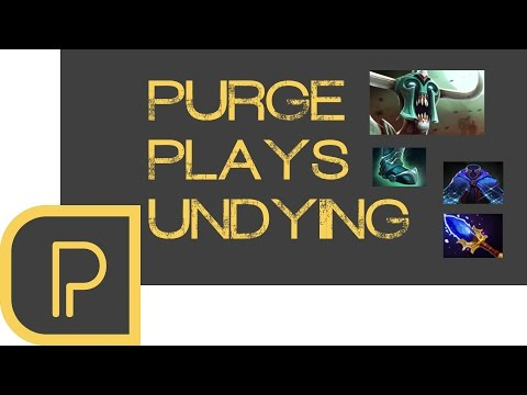 Dota2 Purge plays Undying