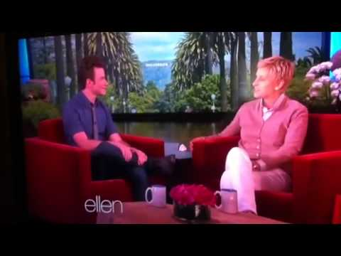 Chris Colfer-Ellen-May 2