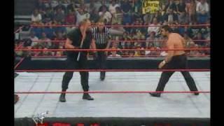 Big Bossman Vs Steve Blackman Hardcore Championship  WWF RAW IS WAR (9/4/00)