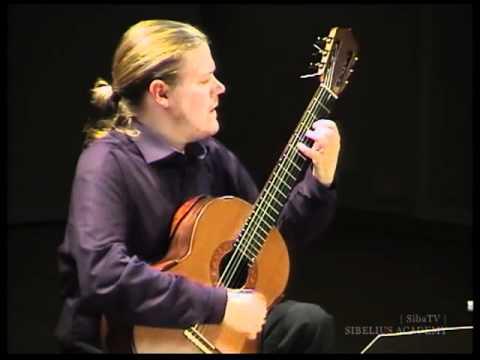 Francis Poulenc - Sarabande (1960) ---- Otto Tolonen, guitar