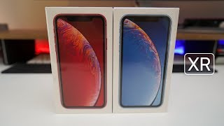 iPhone XR - Unboxing, Setup and Display Comparison