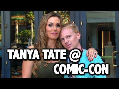 Joe Interviews Tanya Tate at Comic-Con (EXTRA CLIPS)