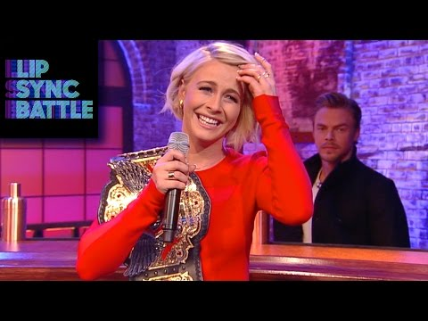 Julianne Hough on her Lip Sync Win