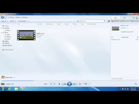 Learn Windows 7 - Windows Media Player Overview
