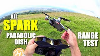 DJI SPARK Review - Part 4 - [4+ Mile In-Depth Parabolic Range Booster Test 😱]