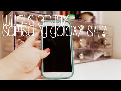 Tag: Updated What's On My Phone? (samsung Galaxy S4)