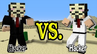 Hacker VS Hacker - Minecraft