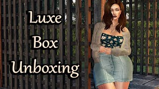 Luxe Box January 2018 Unboxing - Second Life