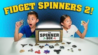 WORLD'S MOST AMAZING FIDGET SPINNER! Spinner Surprise Box Returns!