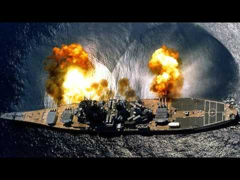 US Navy USS Iowa BB-61 Battleship Final Mission To Los Angeles California To Be Used As A Museum