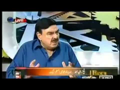 shaikh rasheed fucking india  feel pakistani power, indian tatto