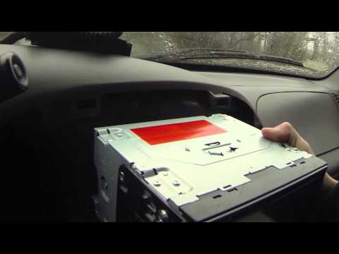 Complete walk through double din stereo install 2001 Ford F 150 how to