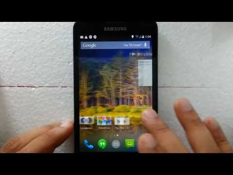 Review of Android 4.4 Kitkat on Samsung galaxy note N7000