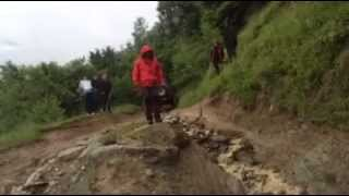 Nissan Patrol Y60 rock crawling part 2