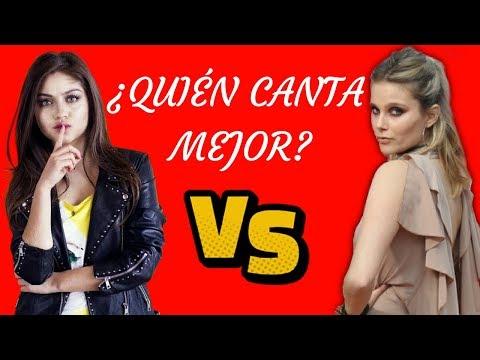 Karol Sevilla VS Valentina Zenere || ¿Quén canta mejor? || DUELO MUSICAL