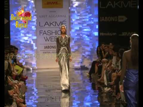 Opening Ceremony of Lakme Fashion WinterFestive 2014 of Amit Aggarwal with  Sushmita Sen  1