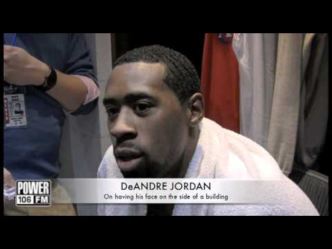 Blake Griffin, De Andre Jordan & Chris Paul- Clippers Post game locker room video