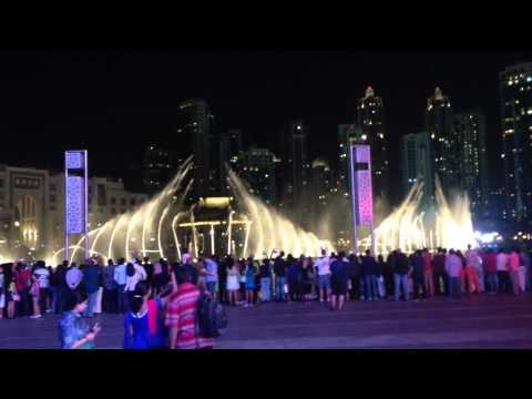 Elissa - Aa Bali Habibi Dubai Fountain video